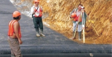 ROAD CONSTRUCTION POLY SHEET